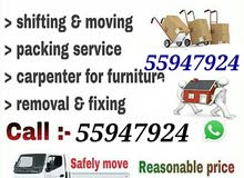 Moving shifting Carpentry Low Price Call 55947924