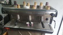 ماكينه قهوة 3 دراع وارد ايطاليا