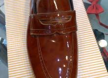 حذاء رسمي مقاس 41 جلد طبيعي