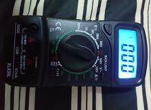 جهاز قياس الكترونيات جديد Multimeter Voltmeter