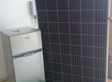 ثلاجه 120 لتر  تعمل على نظام الطاقة الشمسية