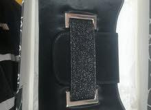 حقيبة إيطالية سوداء