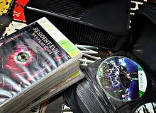 XBOX 360 امريكي اصلي بصمه