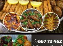 السلام عليكم متوفر لدينا جميع الأكلات المصريه( محاشي _اللحوم _دجاج _حمام _ ممبار