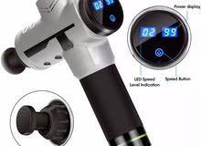 New massage gun with 4 head attachments