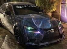 Lexus IS 250 f sport GCC ( modified )