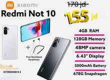 Xiaomi Redmi Note 10   والتوصيل مجاني