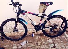 دراجة هوائية شبة جديده