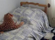 سرير مفرد خشب عدد2