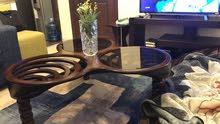 طاولة تلفاز+طاولة وسط وتوابعها