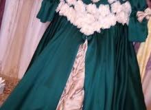 فستان أخضر للاعراس والخطب