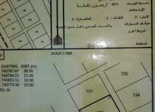 ارض بولاية جعلان بني بو علي بمنطقة صلال شرق رقم القطعة 133 وسطيه وبسعر مناسب