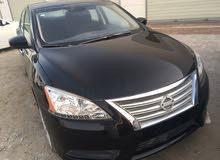 Black Nissan Sentra 2015 for sale