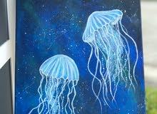 لوحة قنديل البحر
