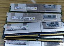 رامات القطعة 8 جيجا 5300F DDR2 ecc سامسونج & هاينكس للاجهزه الوركستيشن