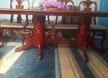 طاولة سفرة 10 كراسي زان