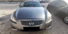 infiniti g37s coupe gcc full option in excellent condition