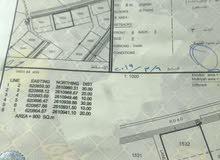 الخوض السابعة ارض سكنيه على شارع قار مساحة الأرض كبيره 900 متر