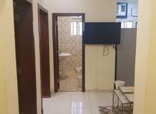 غرفتين مؤثثة للايجار بحي البوادي