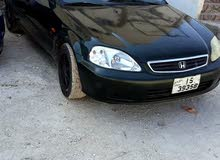 Honda Civic 1999 For sale - Green color