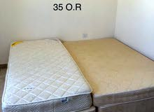 سريرين راحة - عرض 120سم و 90 سم بحالة جيدة