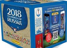علبة إستيكرات 250 بانيني لكأس العالم - Panini World Cup 250 Stickers Box