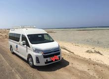 Automatic 2020 Hiace for rent