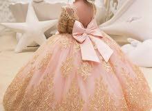 نقوم بتصميم اي فستان على حسب زوقك وفساتين سهرة وعرايس واطفال واسعار متافسه