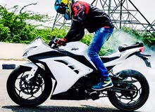كوازاكي نينجا 2015 ABS ماتور جديد  خالية من  الحوادث للبيع او البدل