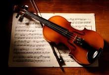 لمن يرغب التعلم على ألة الكمان والقواعد الموسيقية