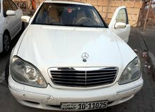 Used condition Mercedes Benz S 320 2002 with 0 km mileage
