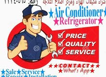 Ac Fridge.Cooler Sale.Fixing.Hot air.Gas.Clean.Water leak Any Problem call us