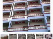 شقة 135 ع الطوب علي شارع 16متر