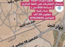 فرصة ارض سكنية المروج صلالة شمال المهرجان والمطار 800 متر