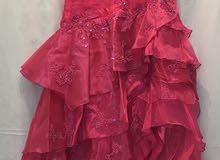 فستان سهرة لبسة وحدة