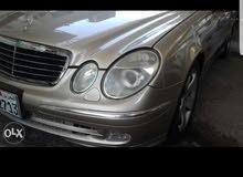 للبيع مارسدس E 500 م2004