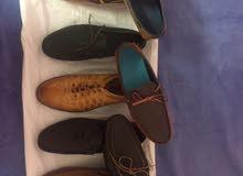 أحذية جلد طبيعي