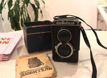 كاميرا .لوبيتل الرائعه .صناعه روسيه تعود الى جيل الستينات .مع اوراقها .وحالتها كما هوا واضح ع الصور