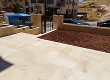 شقة ارضية مميزة للبيع في خلدا قرب الهمشري 205م مع ترس 50م تشطيب سوبر ديلوكس