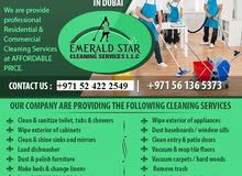 CLEANERS/MAIDS ONLY ON 25 AED IN DUBAI...