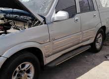 SsangYong Musso 2004 For sale - Grey color