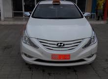 White Hyundai Sonata 2013 for sale