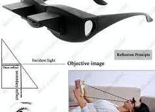Periscope Horizontal Reading TV Sit View Glasses The Lazy Glasses