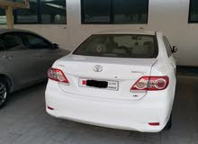 1.6 Toyota Corolla 2012 white for sale