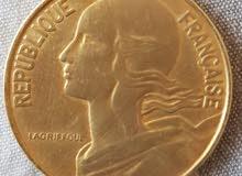 centimes 1963 20