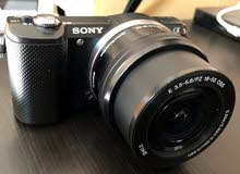 Sony alpha a5000 mirrorless camera with lens for Sale