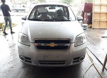 Silver Chevrolet Aveo 2016 for sale