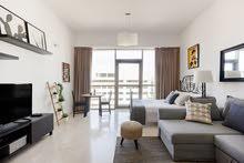 دبي البرشا 1مول الإمارات غرفه وصاله مفروشه شهري شامل