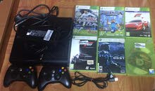 x box 360  for sale 8 cd 2 controller and charger
