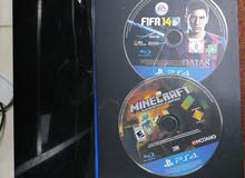Ps4 Normal no controller good condition + minecraft and fifa14 + hdmi cable